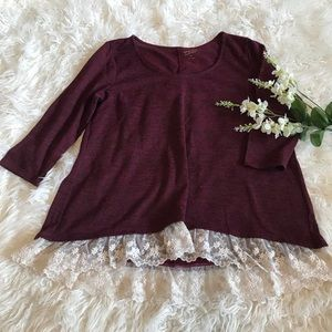 Arizona Maroon Tunic